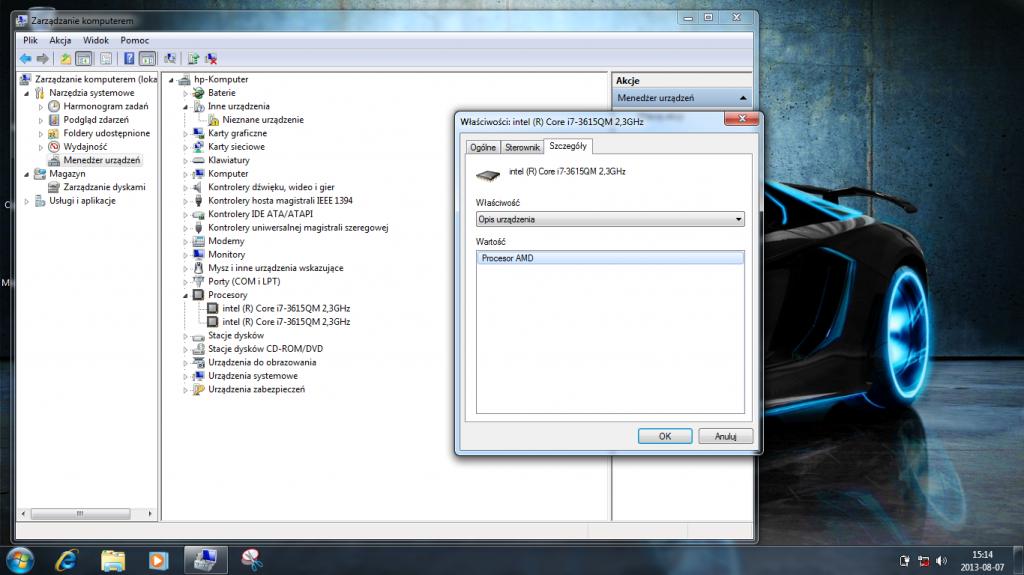 Słuchajcie niesamowita nowina AMD wypuściło olbrzyma. zwał się on Core i7