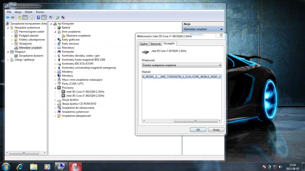 Nazywam się Turion, AMD Turion, jednak przyjaciele mówią mi i7, Core i7