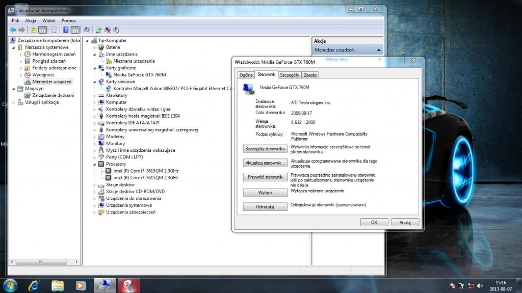 ATI Nvidia GF GTX 760M